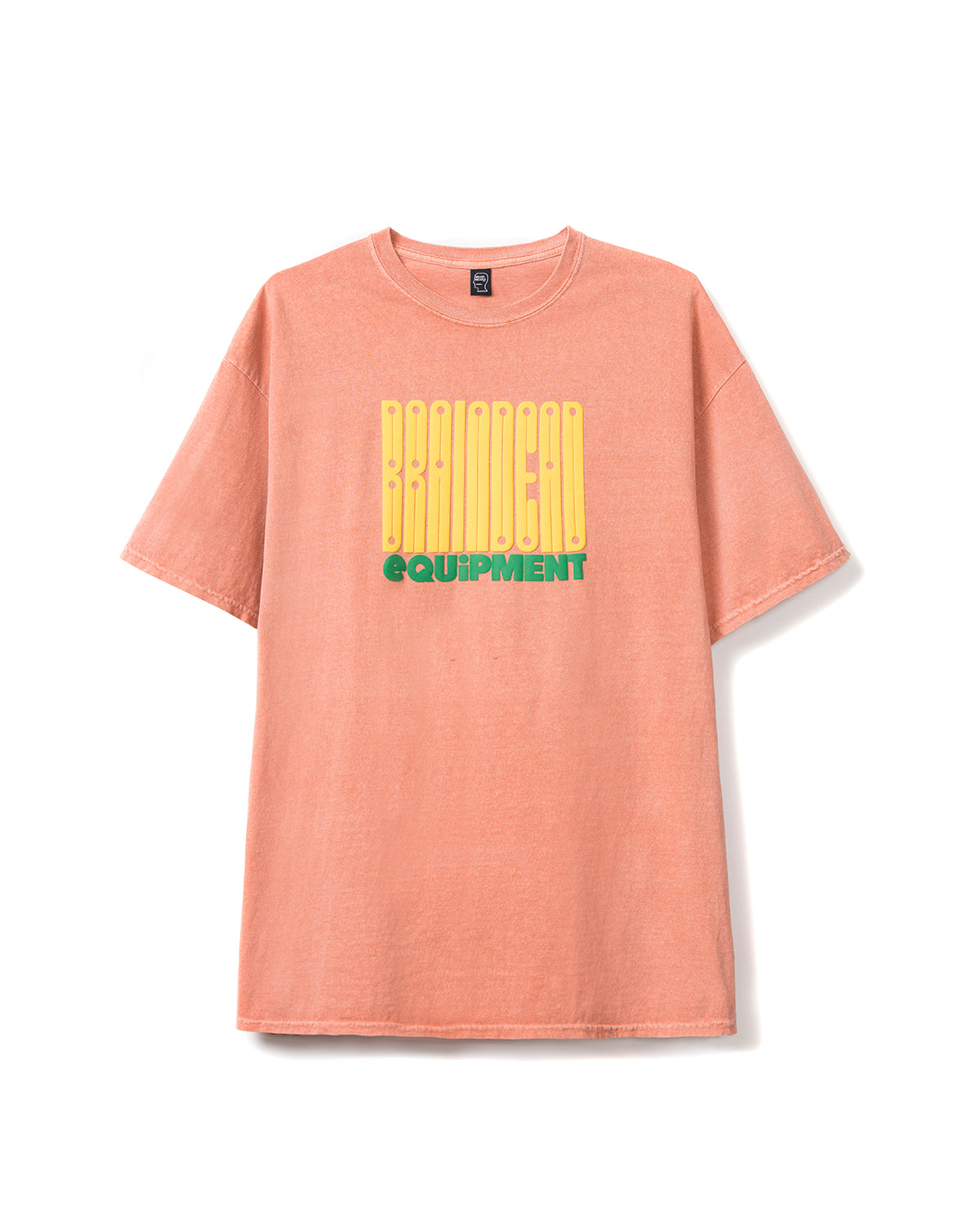 Equipment T-shirt - Terracotta - Brain Dead