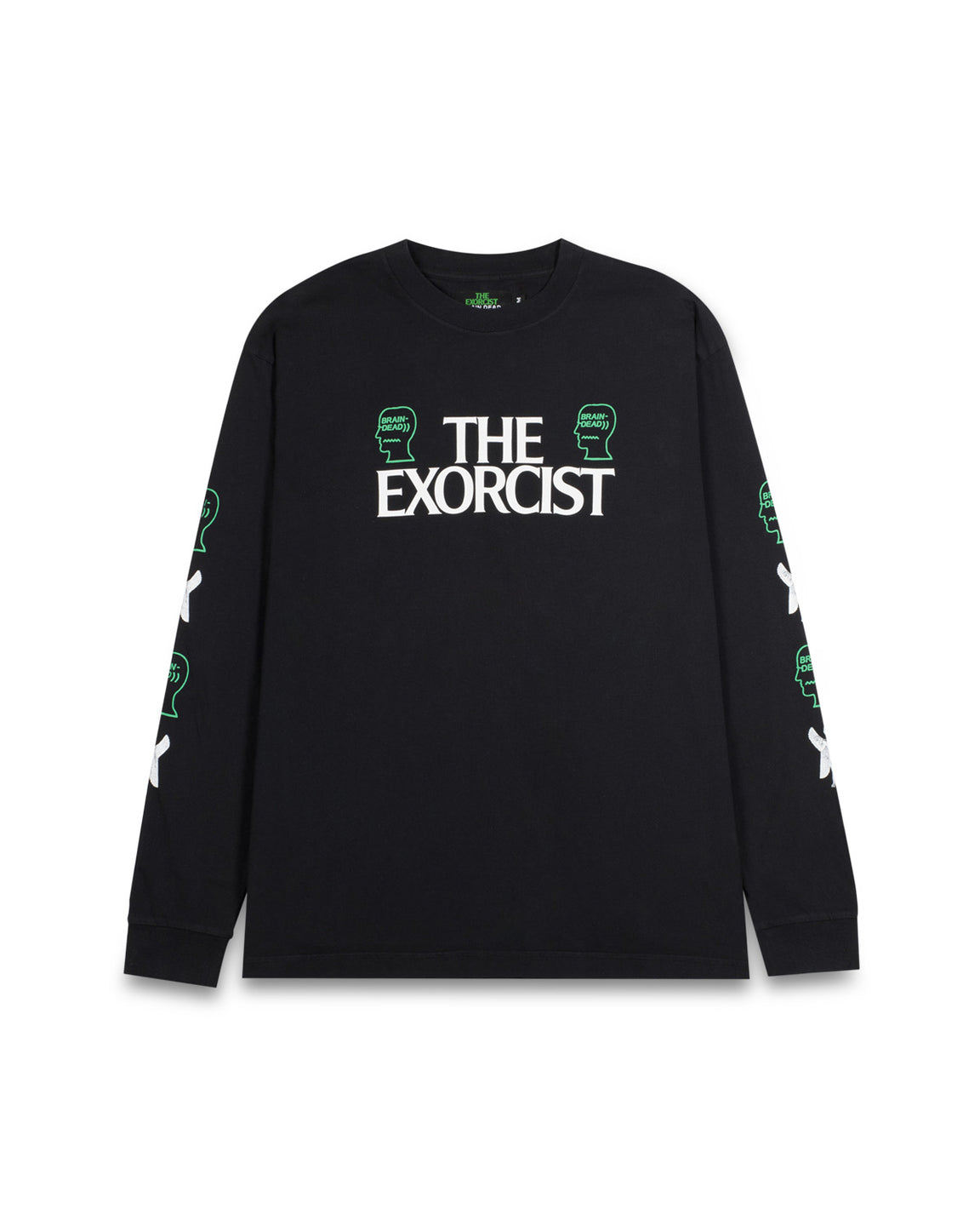 The Exorcist X Brain Dead Long Sleeve T-Shirt - Black