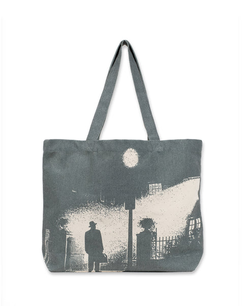 The Exorcist X Brain Dead Tote Bag - Charcoal