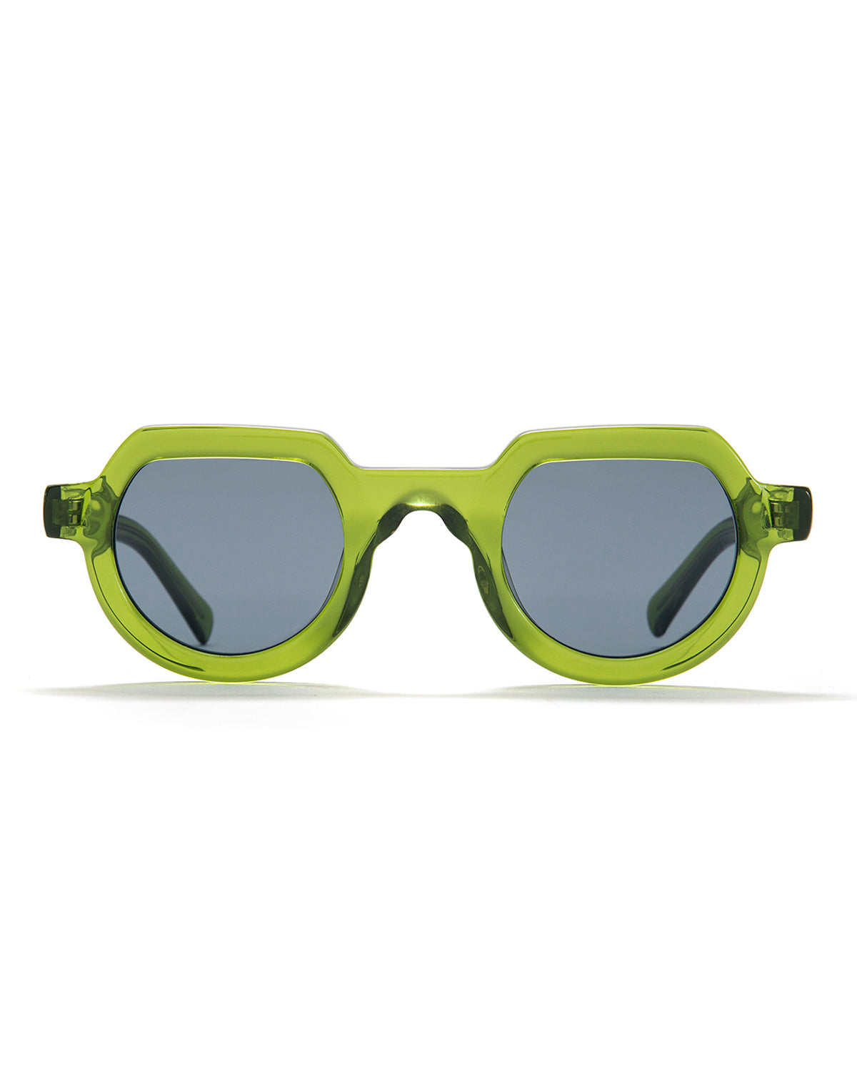 Tani Sunglasses - Translucent Green - Brain Dead
