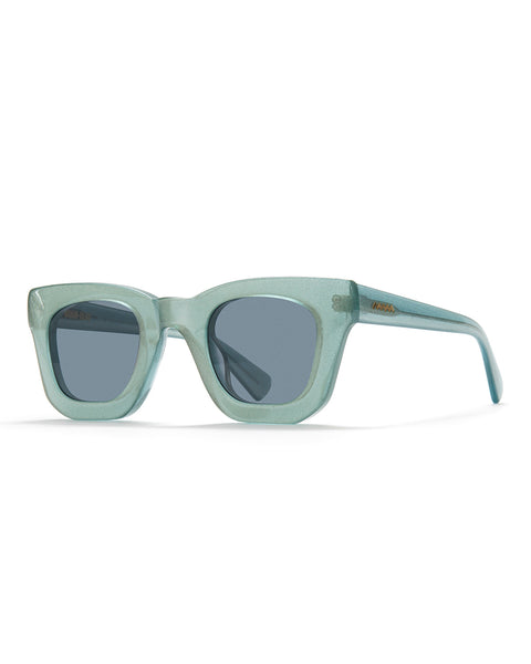 Elia Sunglasses - silver flake finish