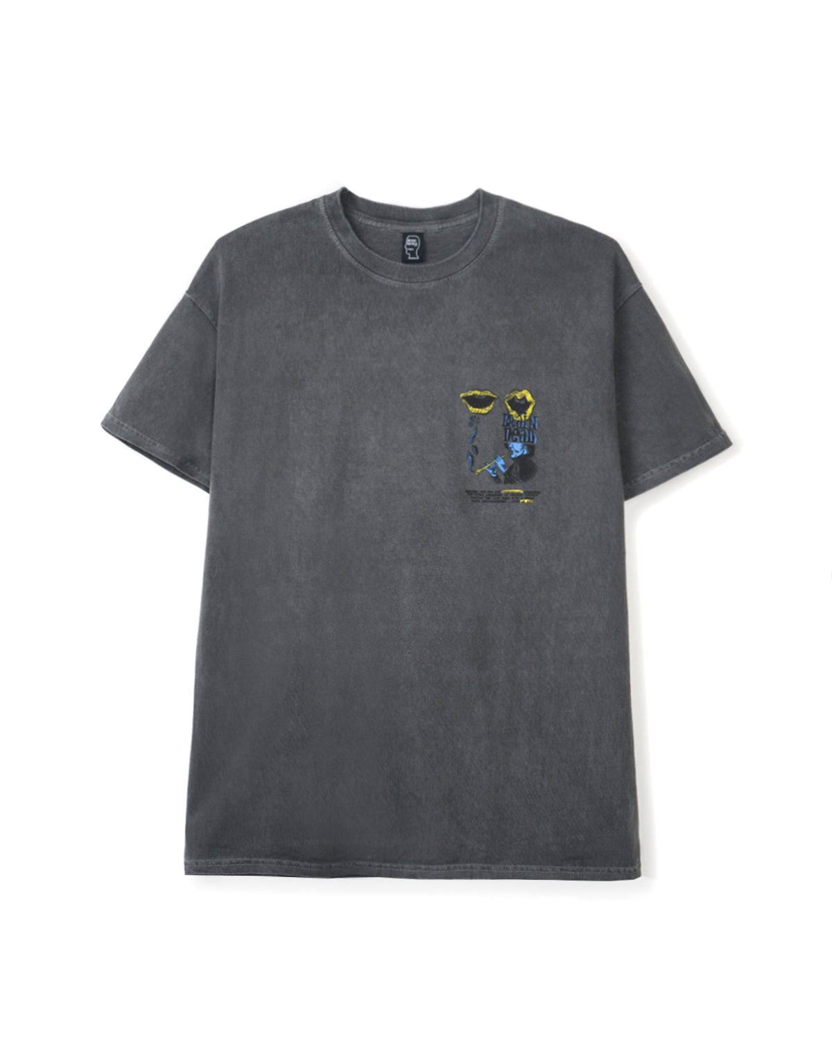 Invasion T-shirt - Washed Black