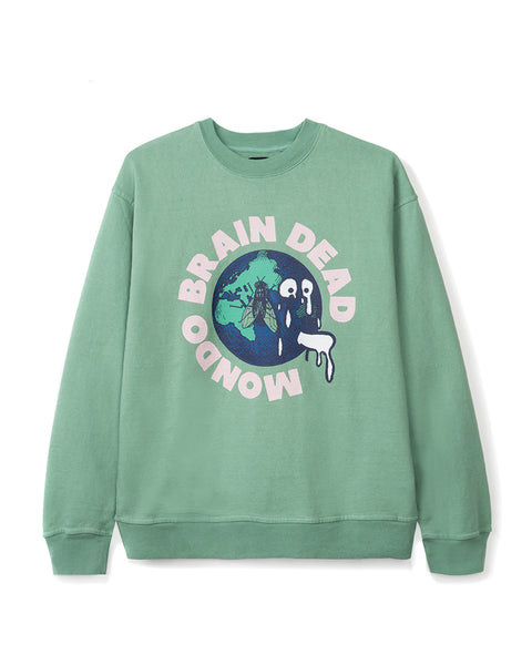 Mondo Crew Neck - Putty green
