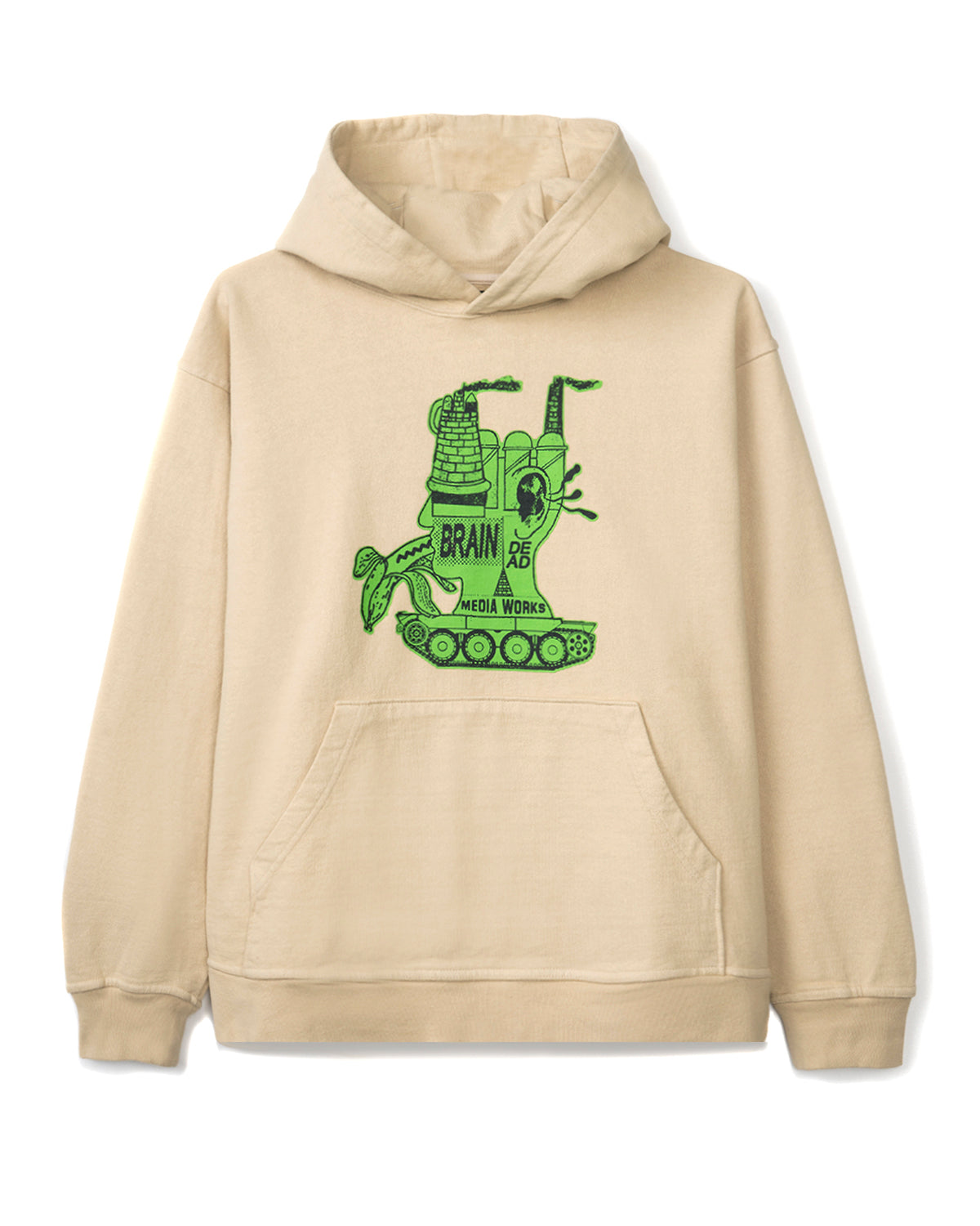 Media Works Hoodie - Natural