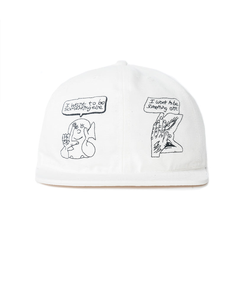 Leon Sadler Strap Back Hat - Cream