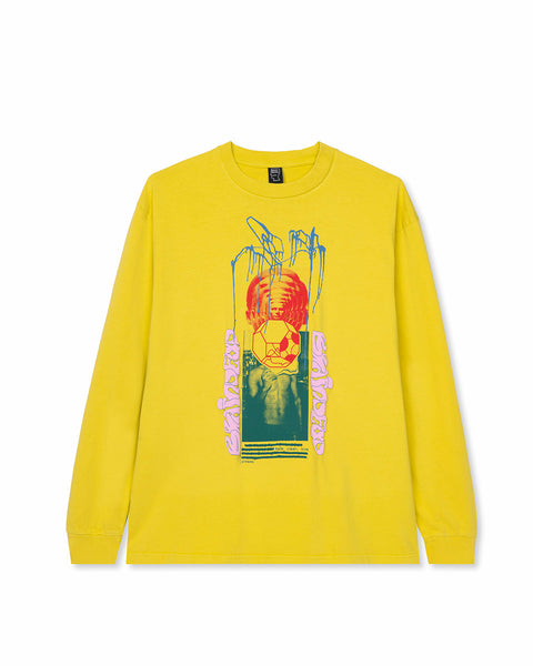 Clean Love Long Sleeve Shirt - Yellow