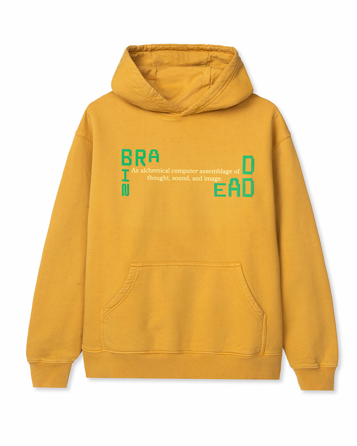 Life Cycle Hoodie - Yellow