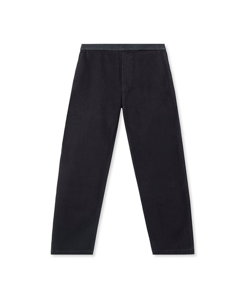 Washed Hard Ware/ Soft Wear Carpenter Pant - Black