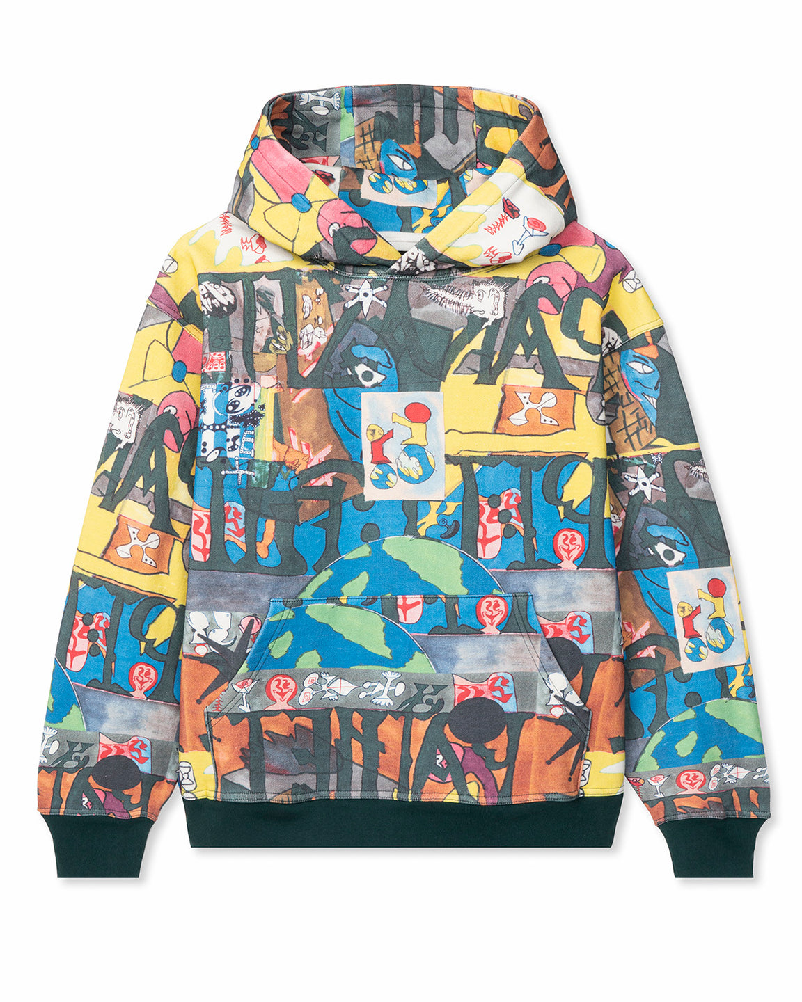 Leon Sadler All Over Print Hoodie - Multi