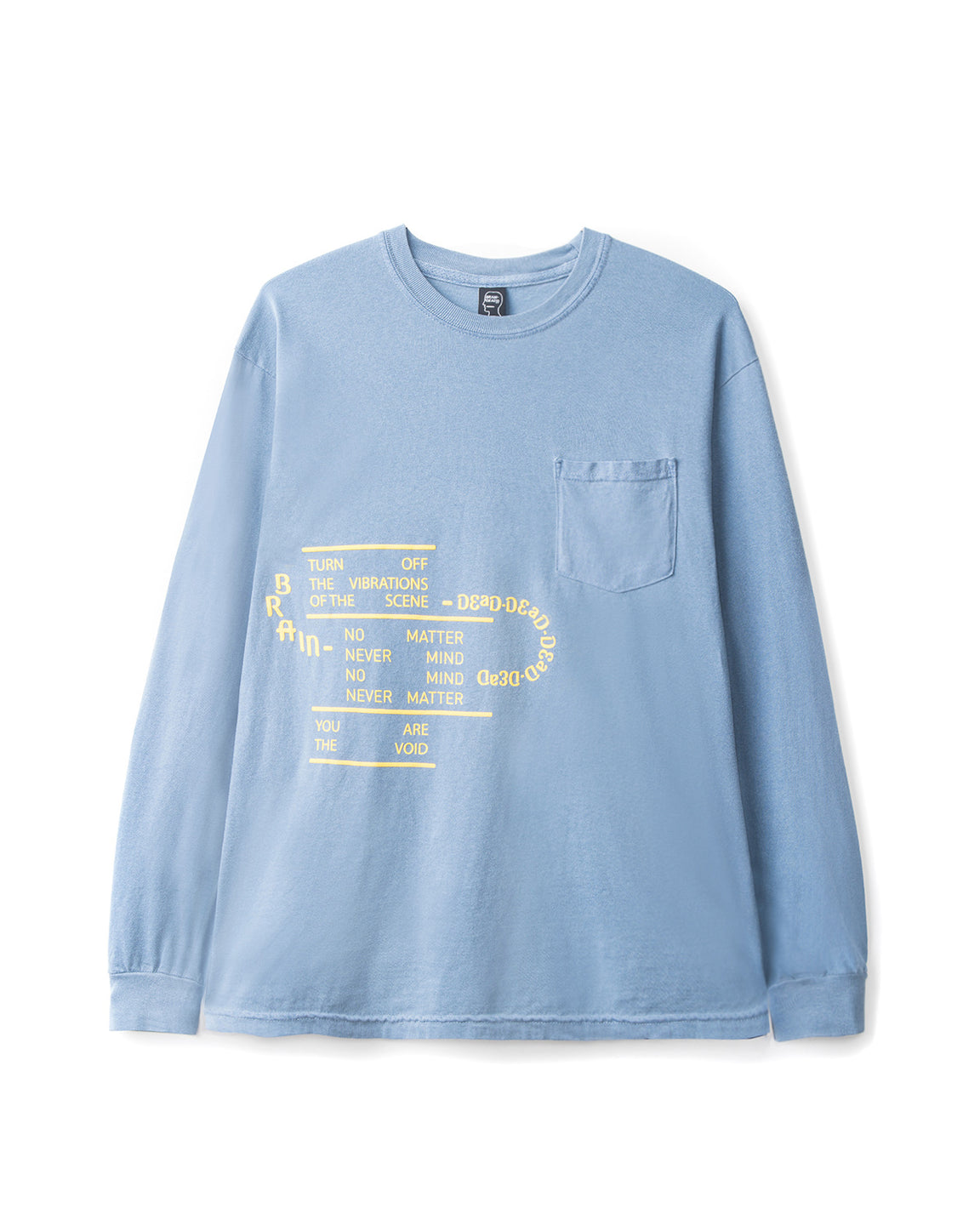 Ghost Long Sleeve - Blue Spruce - front