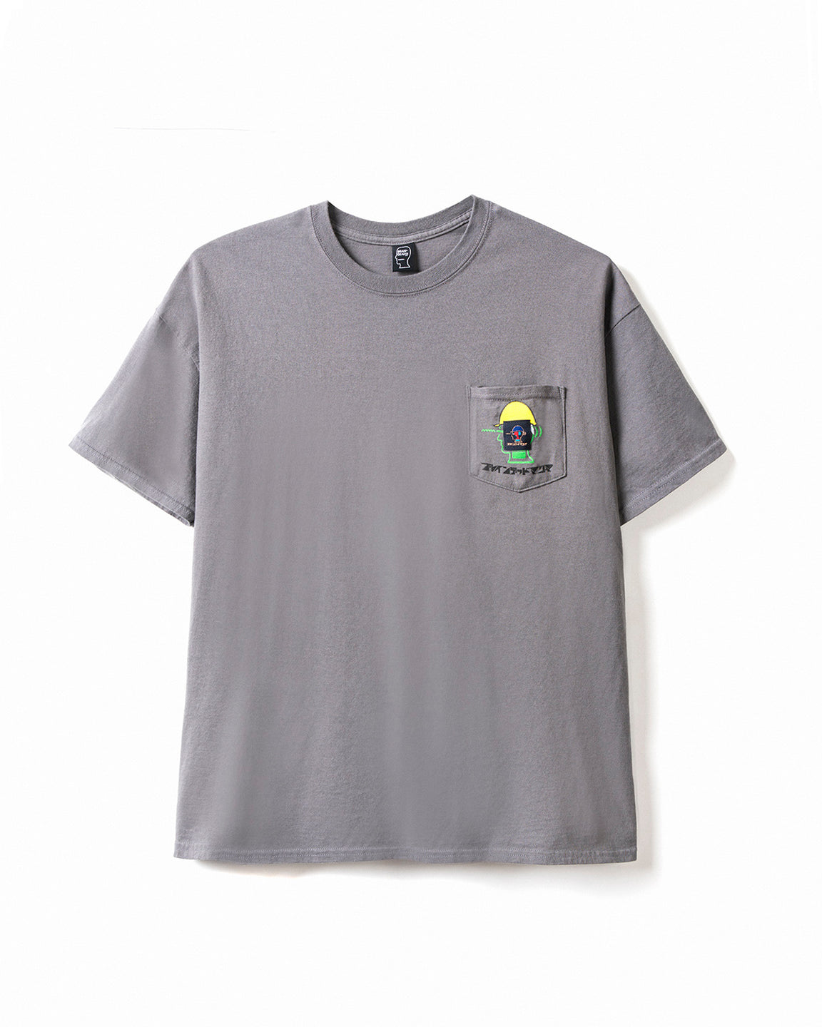 Magma x Braindead T-shirt - Charcoal
