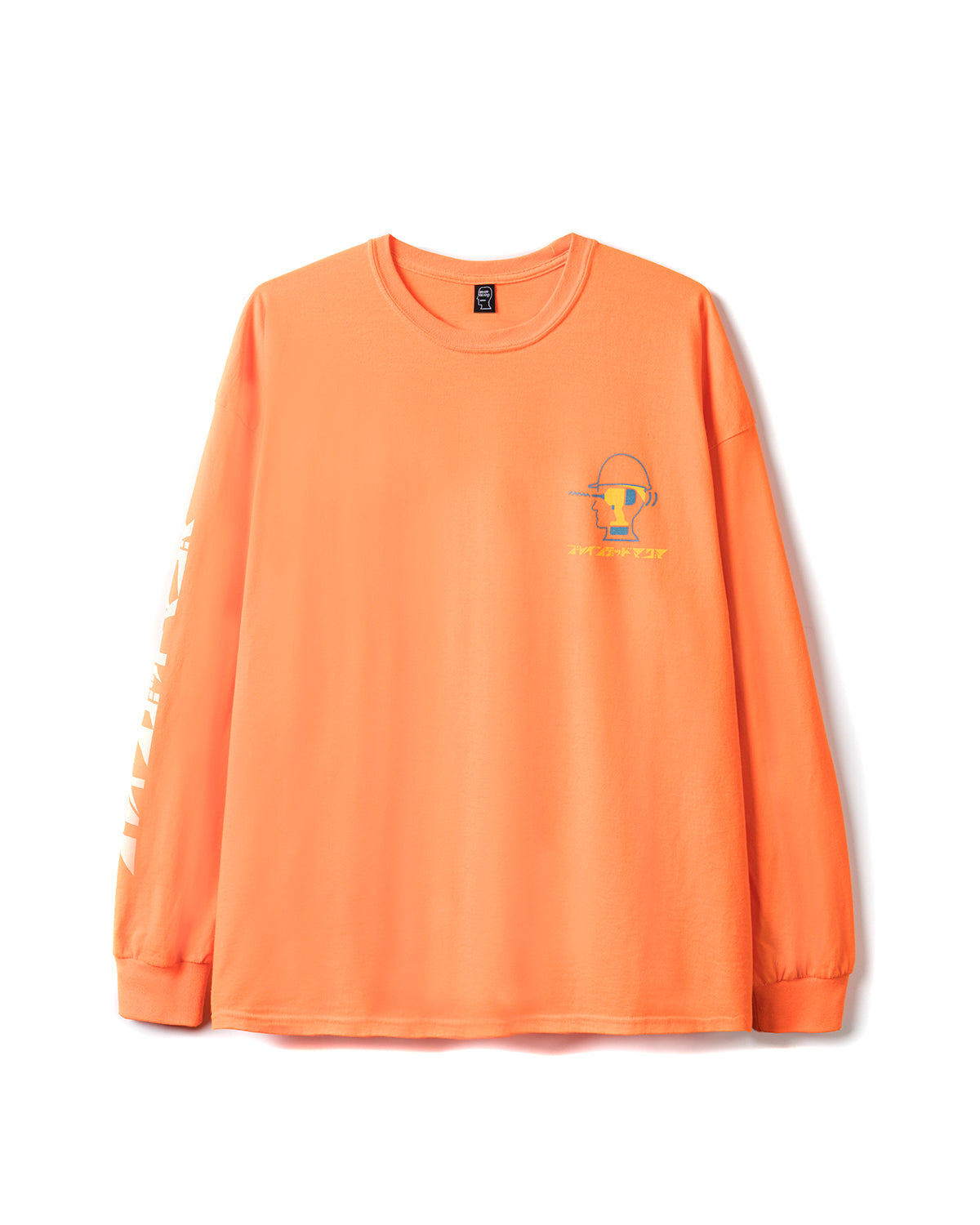 Magma x Braindead Long Sleeve Tee - Orange