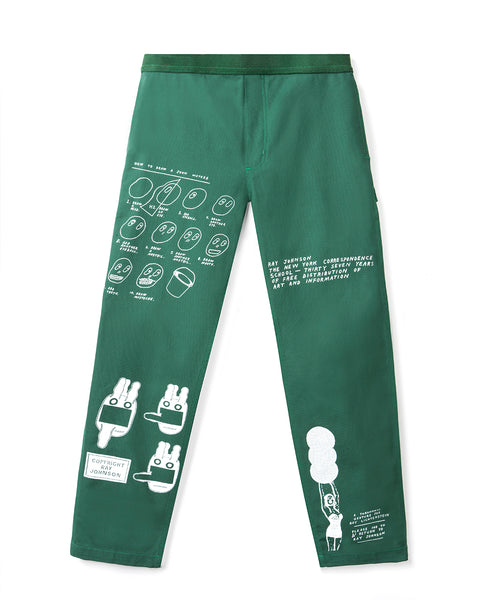 Ray Johnson Estate Carpenter Pant - Green