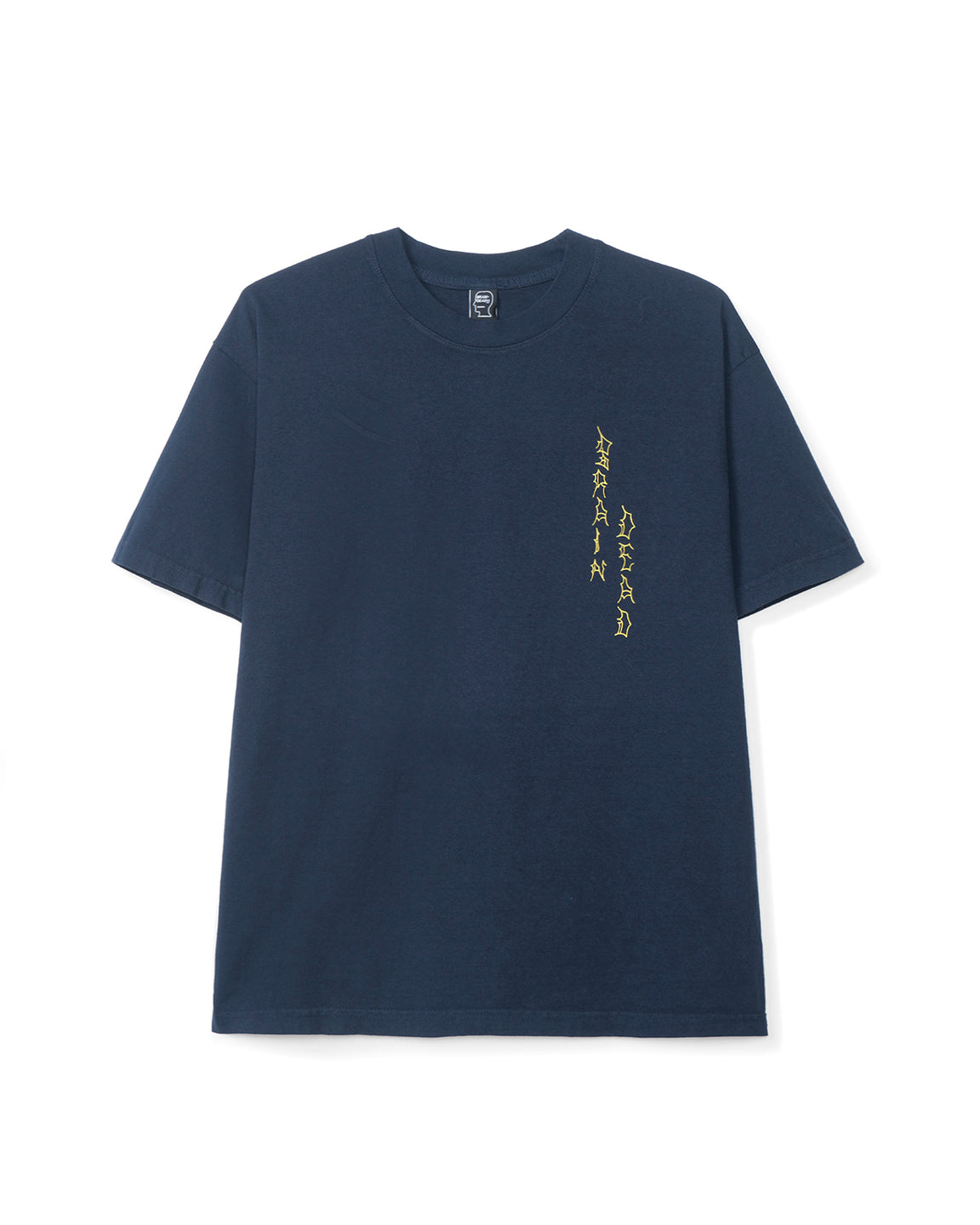 Jonny Negron Brain Knight T-shirt - Navy