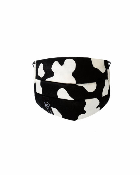 Cow Elastic Face Protection - Cow / Black