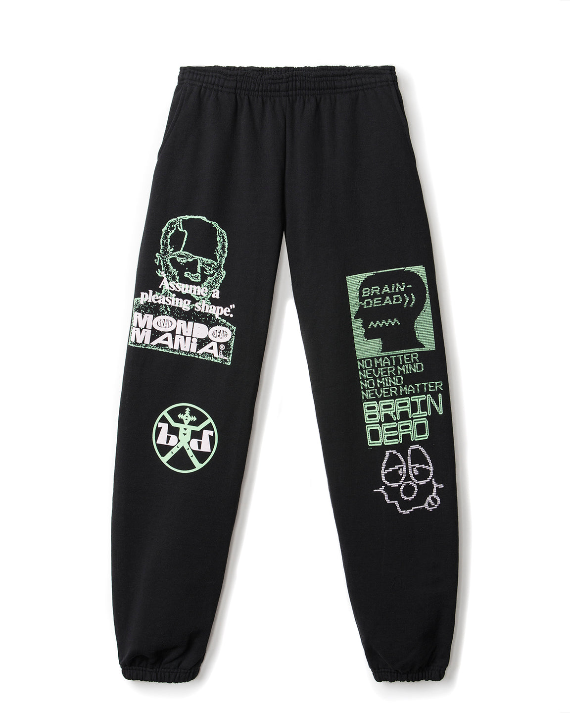 Pleasing Shape Sweatpants - Black