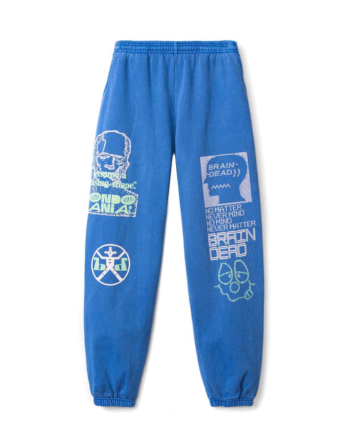 Pleasing Shape Sweatpants - Washed Blue