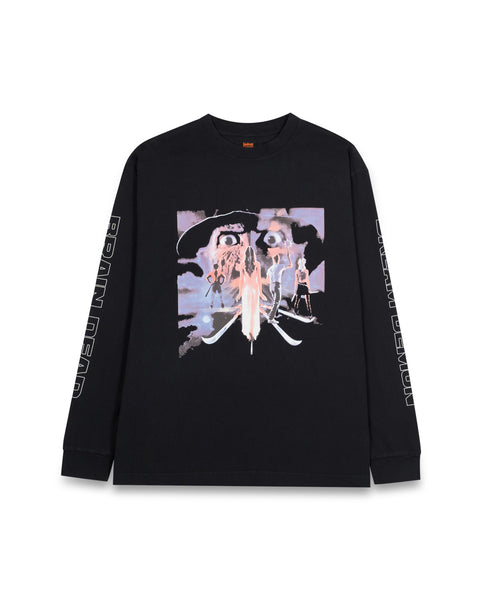 A Nightmare On Elm Street X Brain Dead Long Sleeve - Black
