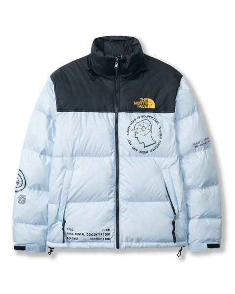 Brain Dead x The North Face Retro Nuptse Jacket - Cashmere Blue