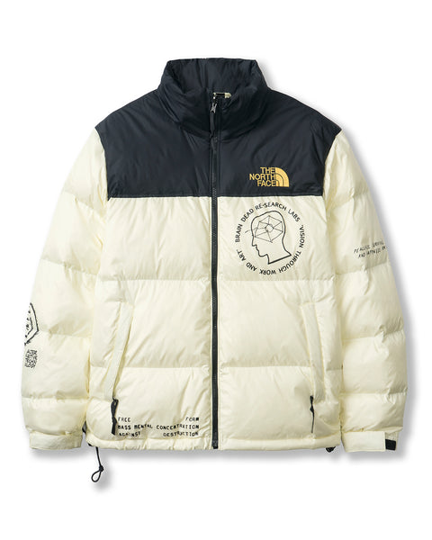Brain Dead x The North Face Retro Nuptse Jacket - Tender Yellow