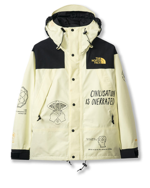 Brain Dead x The North Face Mountain Jacket - Tender Yellow