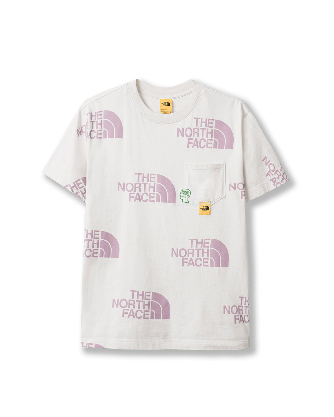 Brain Dead x The North Face Pocket T-shirt - Asphalt Grey