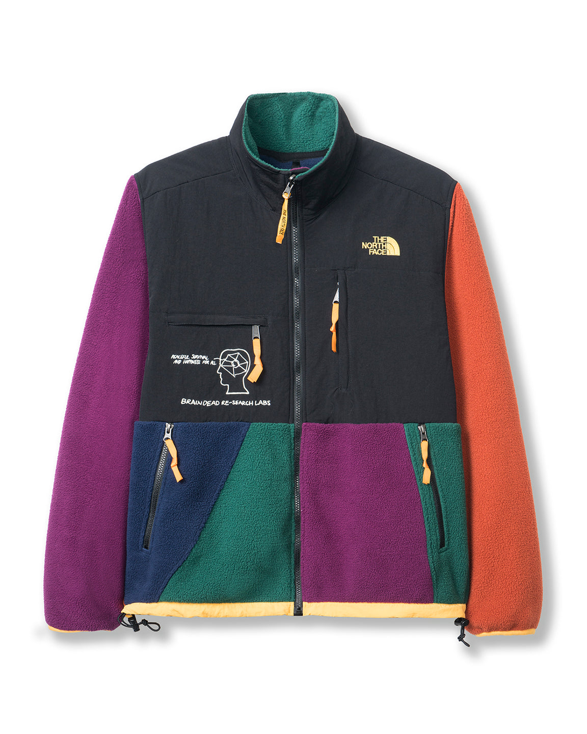 Brain Dead x The North Face Retro Denali Jacket - Multi