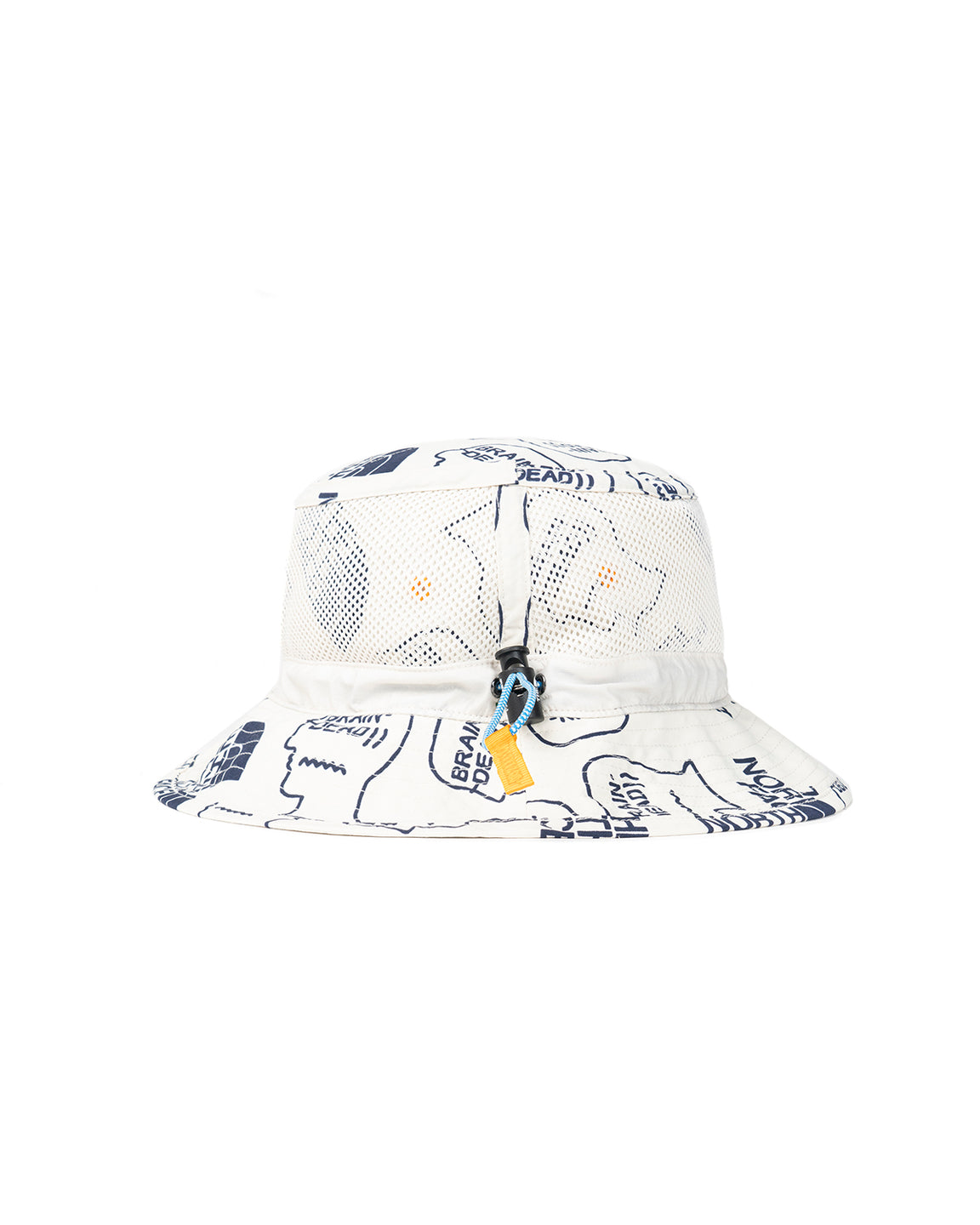 The North Face x Brain Dead Bucket Hat - Vintage White