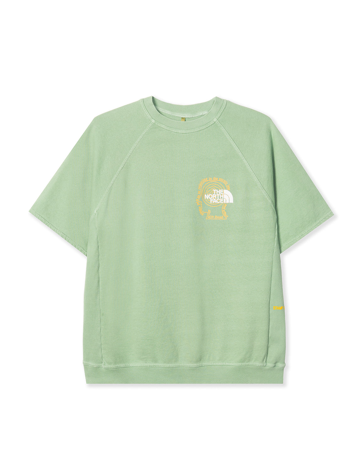 The North Face x Brain Dead SS Crewneck Climber Sweatshirt - Green