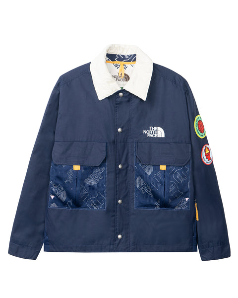 The North Face x Brain Dead 76 Oversized Mountain Chore Coat - Navy