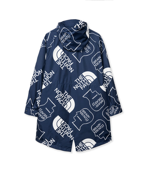 The North Face x Brain Dead 76 Oversized Mountain Parka - Navy