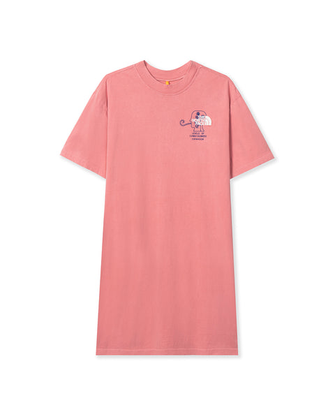 The North Face x Brain Dead T-Shirt Dress - Rose