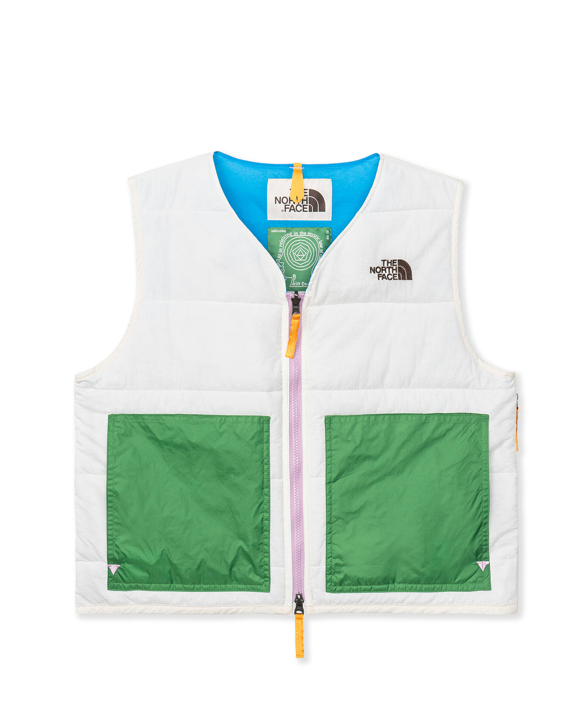 The North Face x Brain Dead 68 Sierra Vest - Vintage White