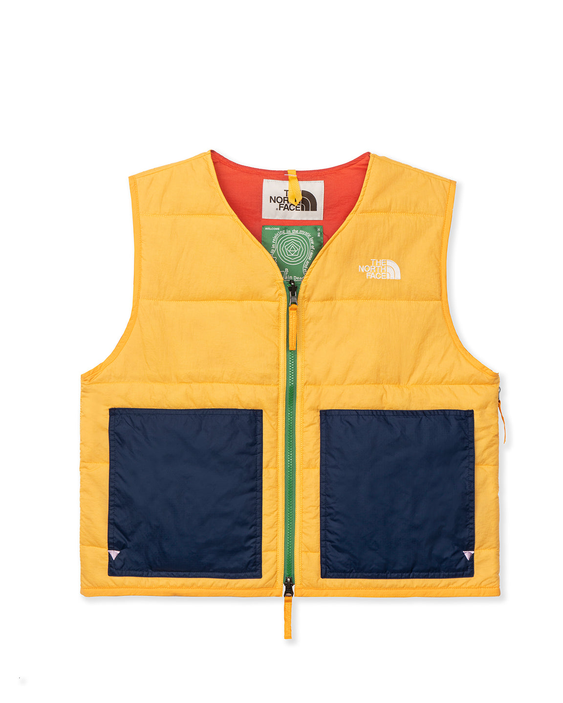 The North Face x Brain Dead 68 Sierra Vest - Yellow
