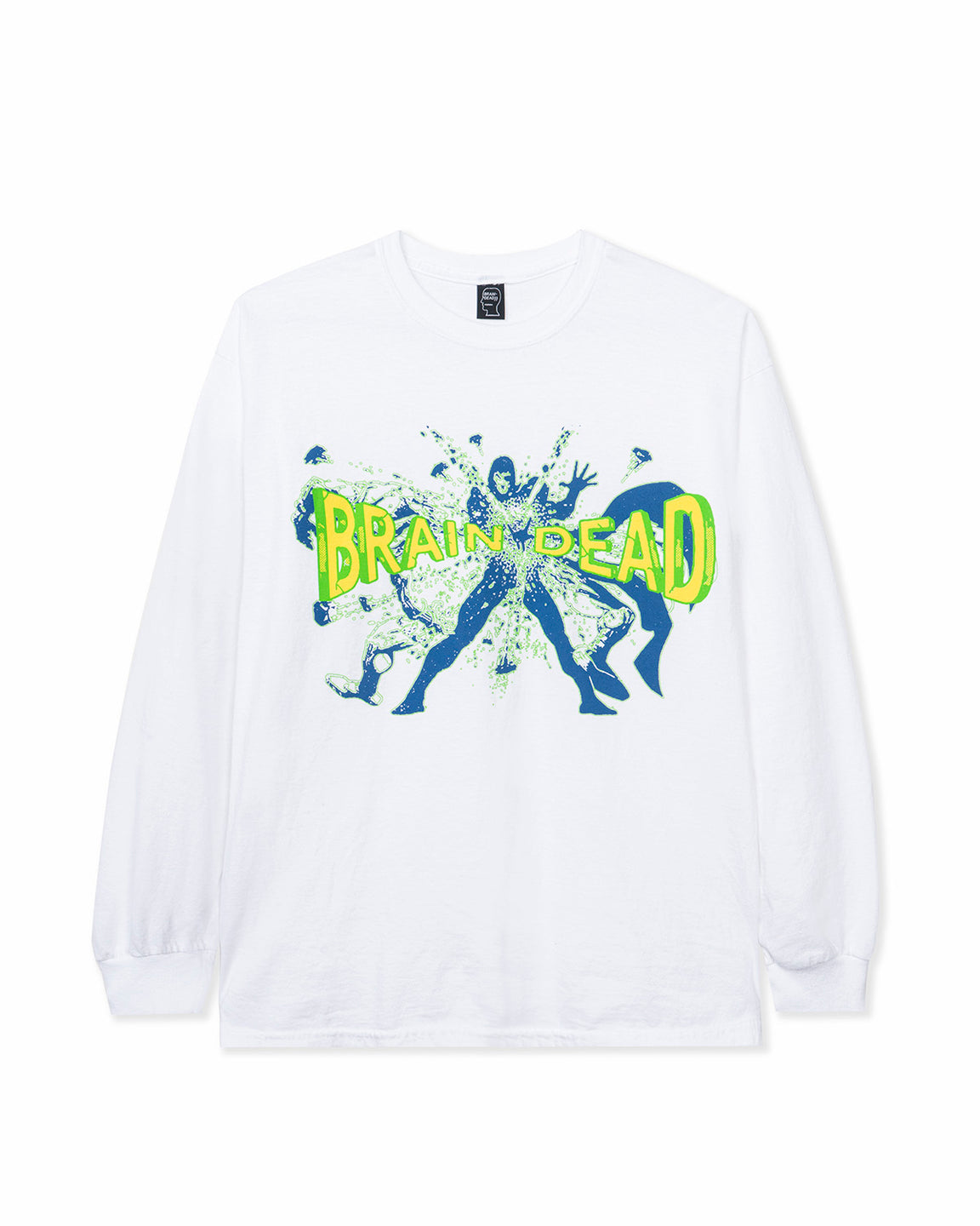 Blammin' Long Sleeve Tee - White