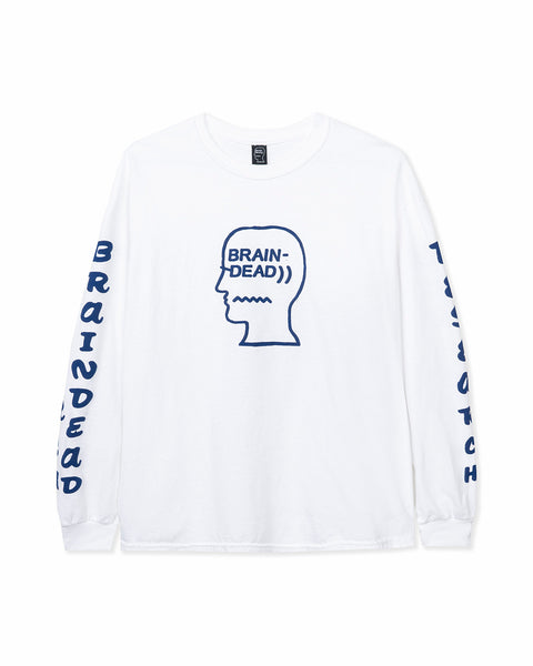 Vehicle Long Sleeve Tee - White