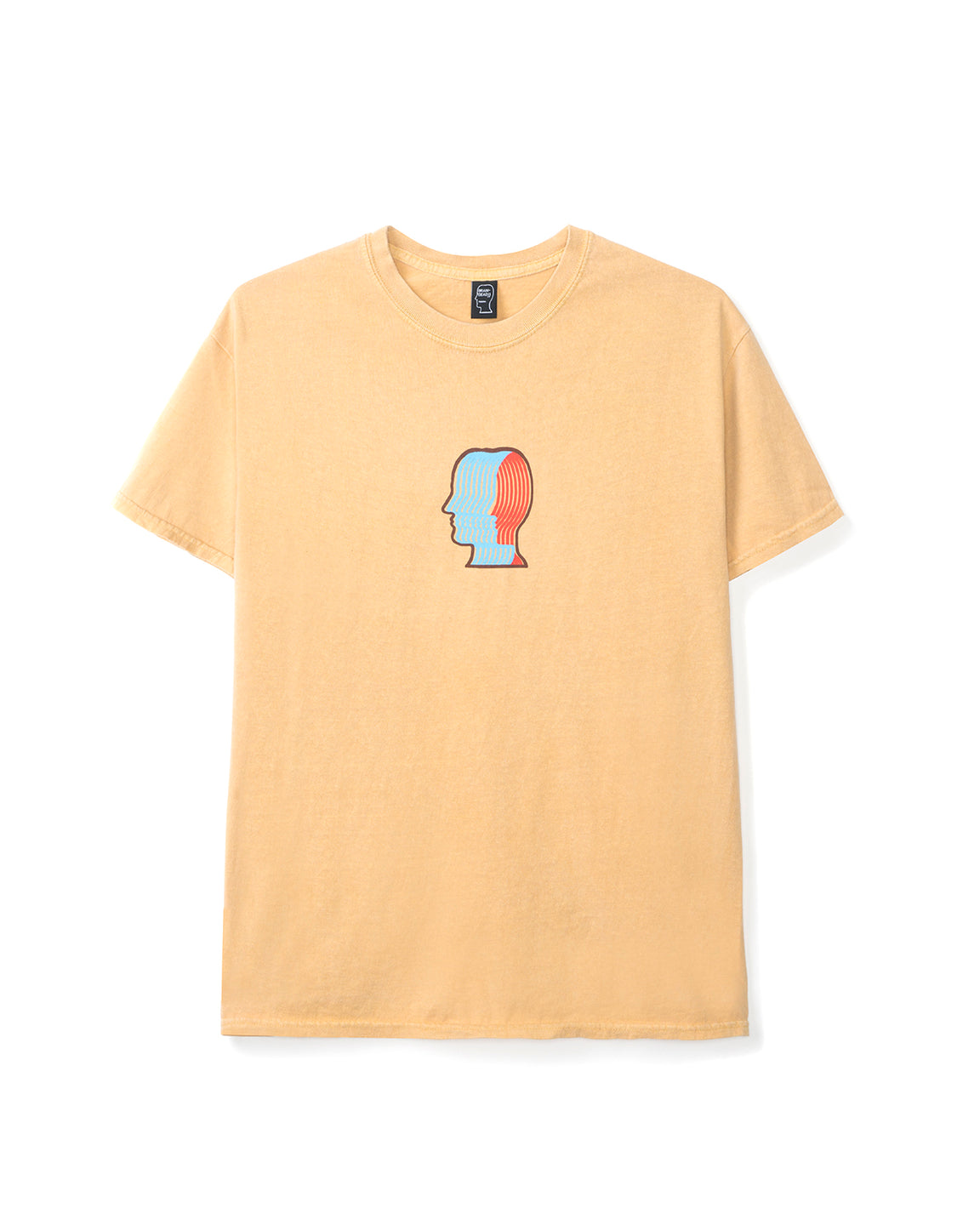 Breathing Problems T-shirt - Yellow - Brain Dead