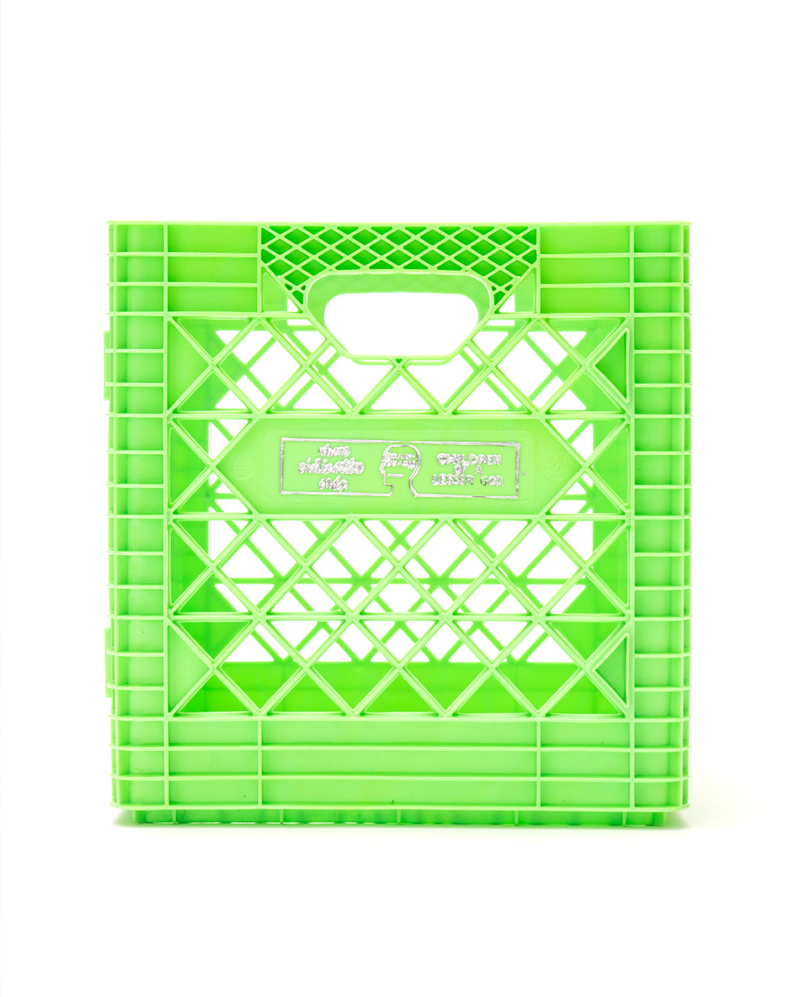 Record Collector Edition Crate - Lime Green - Brain Dead