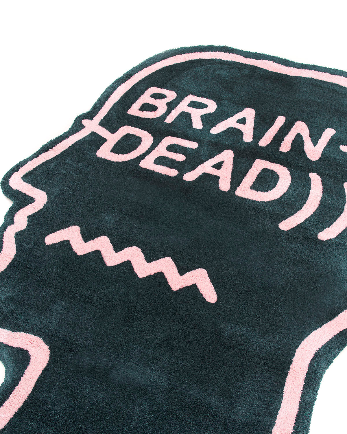 Logo Head 6ft-Rug - Green - Pre-Order