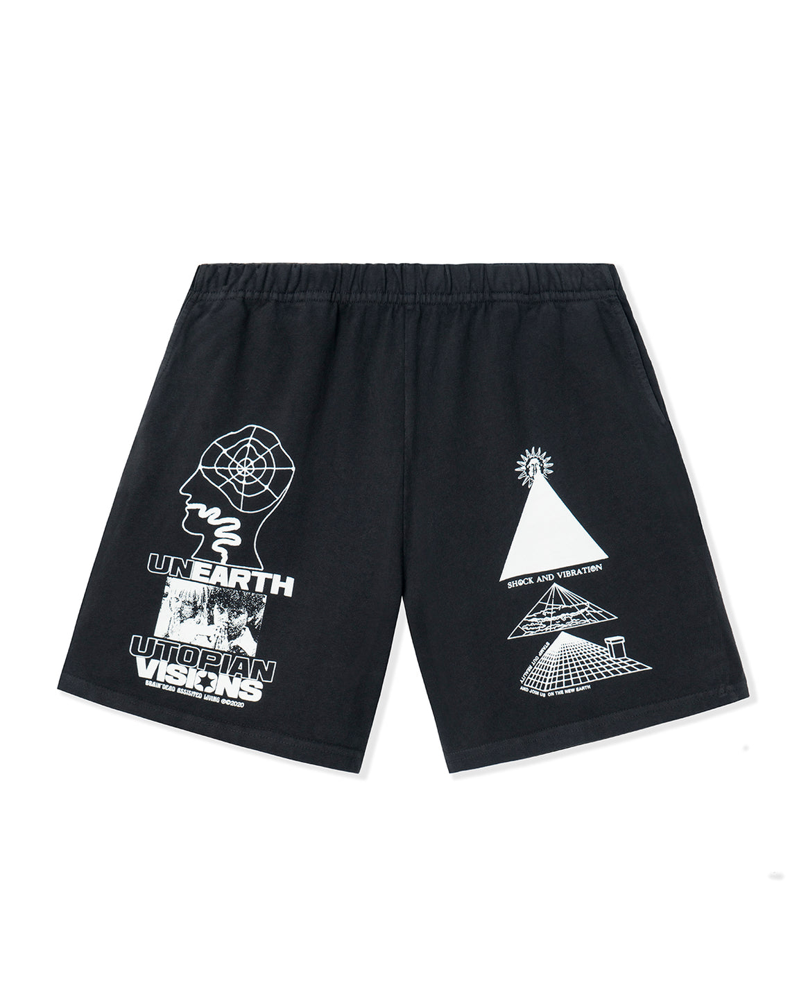 Unearth Utopian Visions Jersey Short - Black