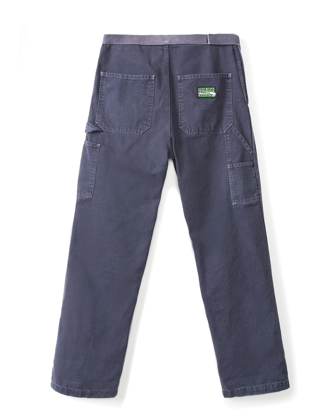 Hard/Software Velcro Carpenter Pant - Washed Navy