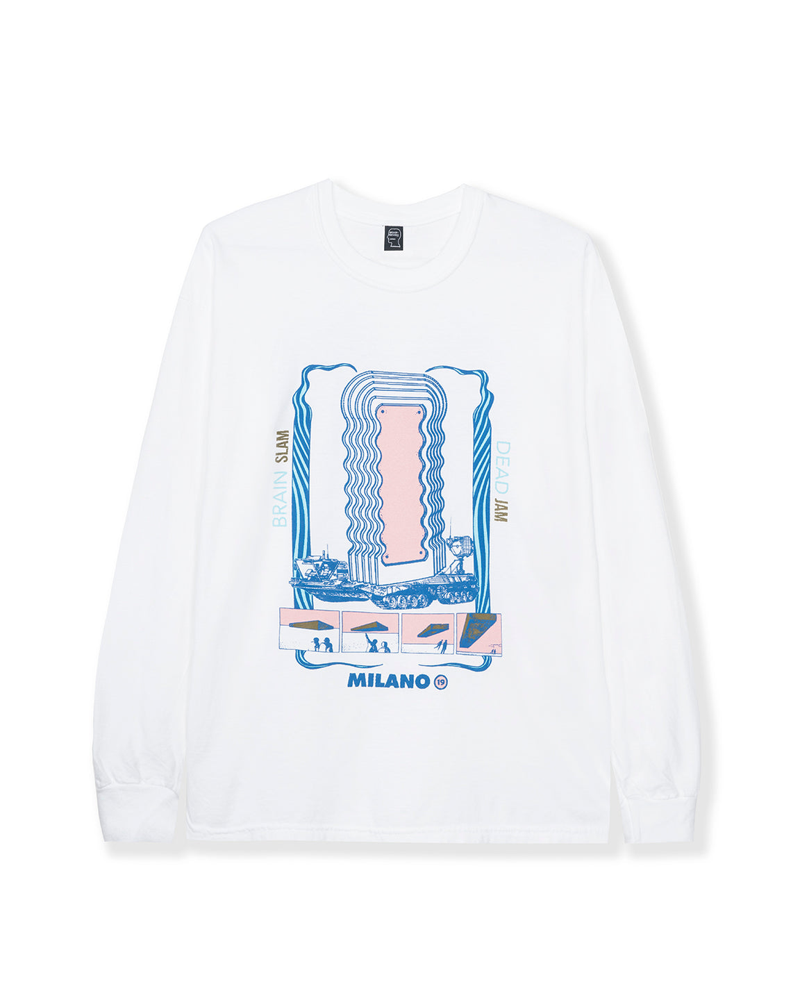 Slam Jam Pilot Long Sleeve - White