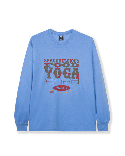 Spacedelicious Food Yoga Coma Long Sleeve - Blue
