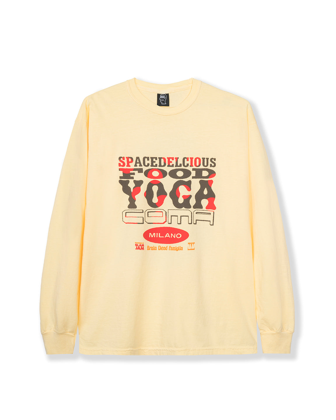 Spacedelicious Food Yoga Coma Long Sleeve - Yellow