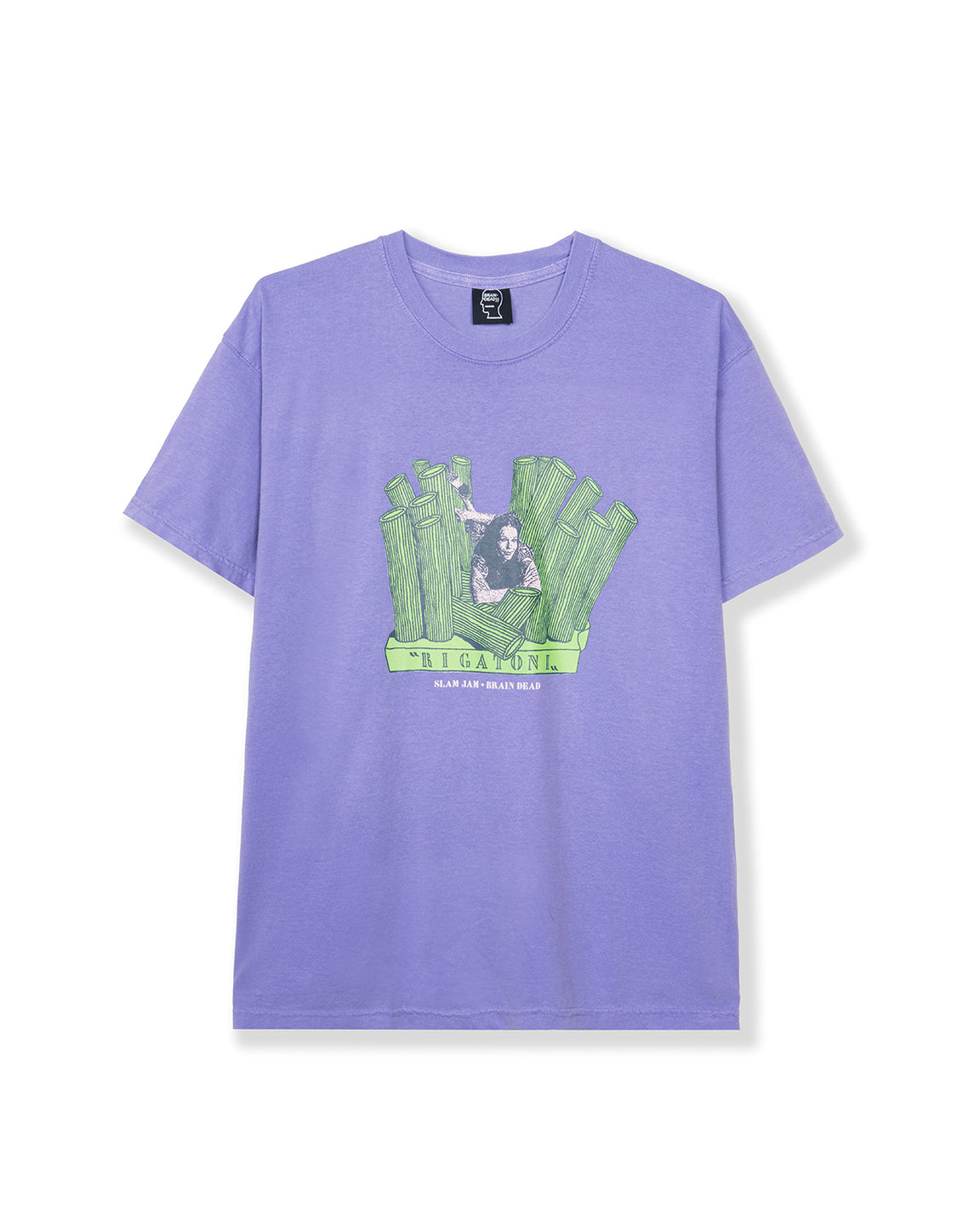 Slam Jam Toni T-shirt - Purple