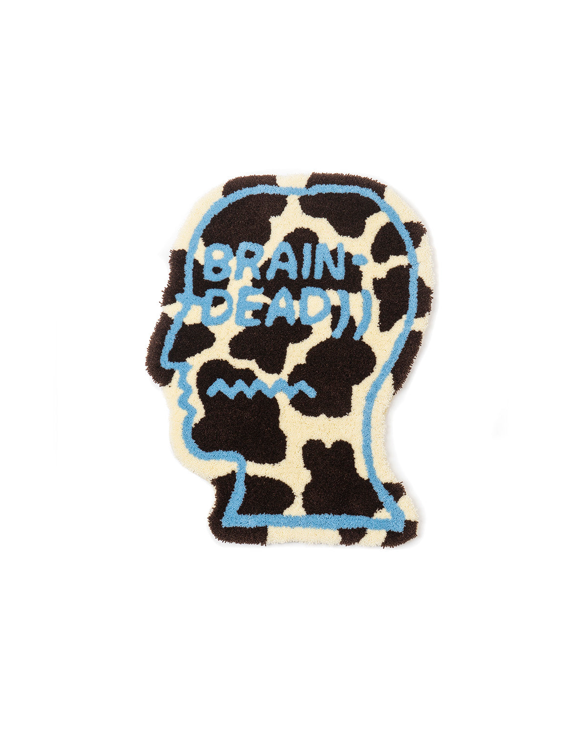 Logo Head Small Rug - Cow
