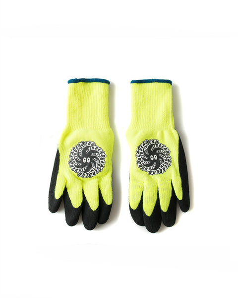 Tornado Deadder Gloves - Fluorescent Yellow - Braindead