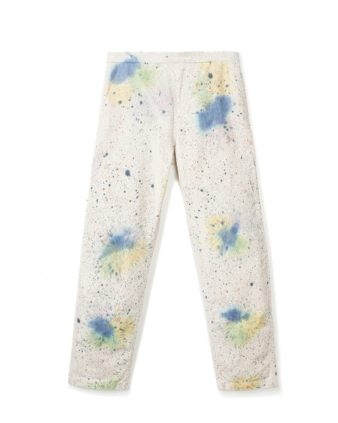Hard/Software Velcro Carpenter Pant - Hand Splatter Dye / Washed front