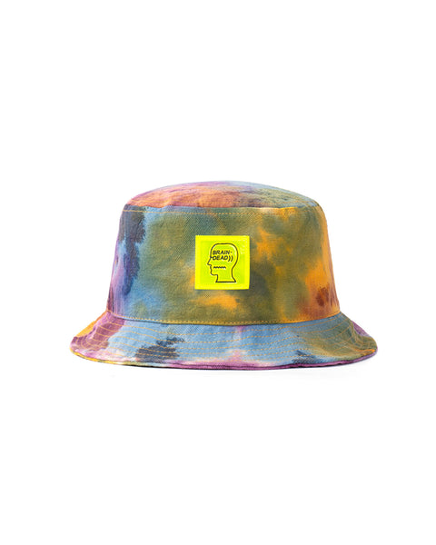 Dyed Canvas Bucket Hat - Tie Dye