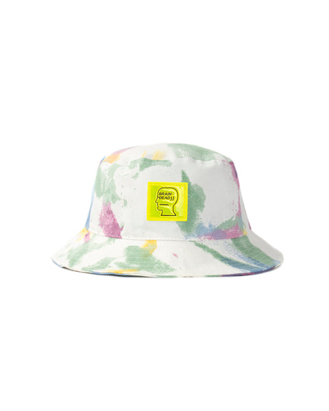 Dyed Canvas Bucket Hat - Dry Pigment Dye